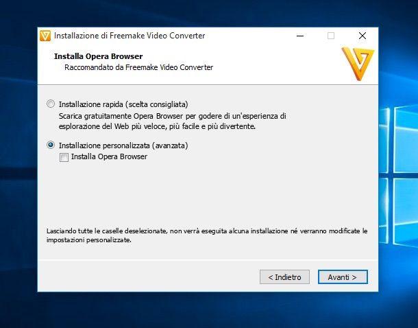 Screenshot che mostra come convertire MKV in MP4 su Windows