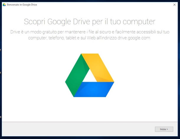 Screenshot di Google Drive