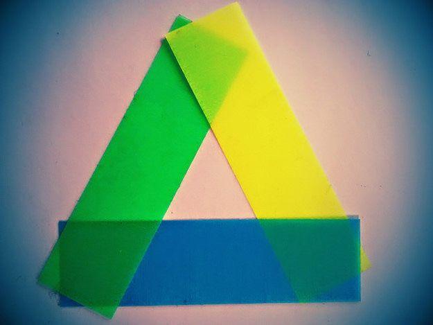 Foto che mostra il logo di Google Drive