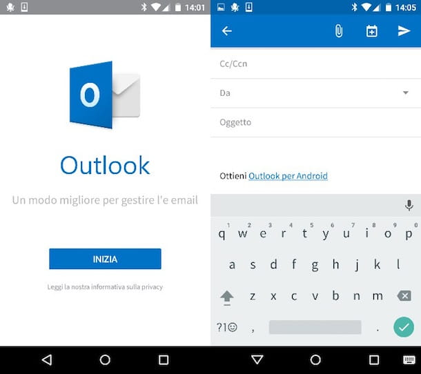 Come configurare Outlook con Gmail