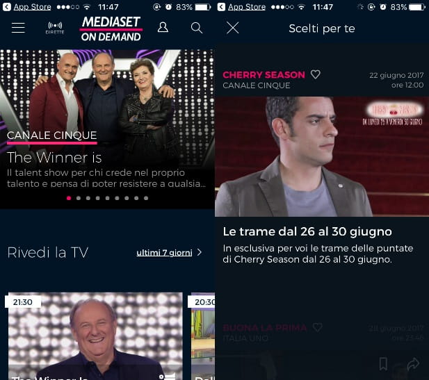 video mediaset aranzulla