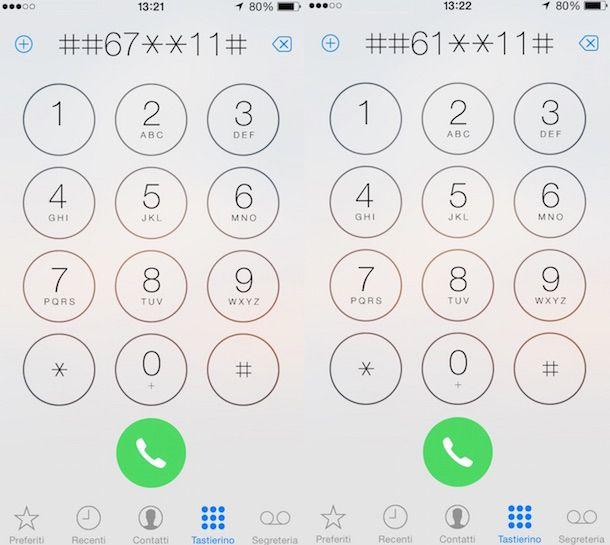 Come disattivare segreteria telefonica Tre