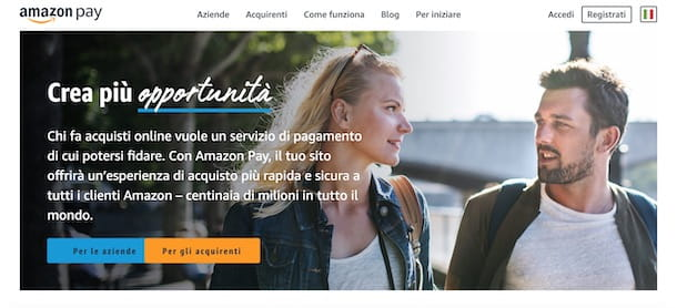 Come funziona Amazon Pay