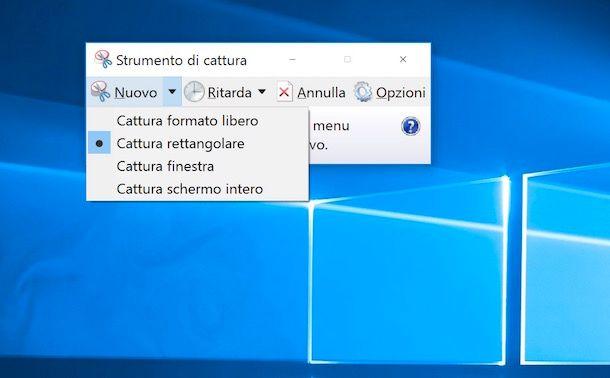 Come fare screenshot PC