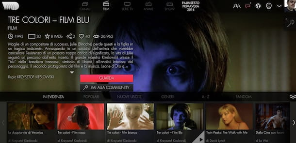 Guardare film in streaming gratis