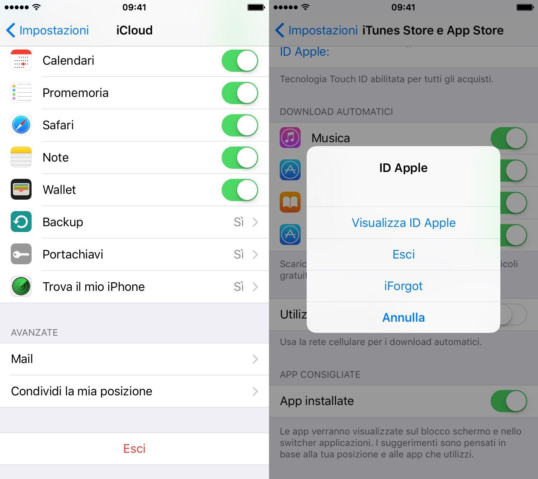Come modificare ID Apple
