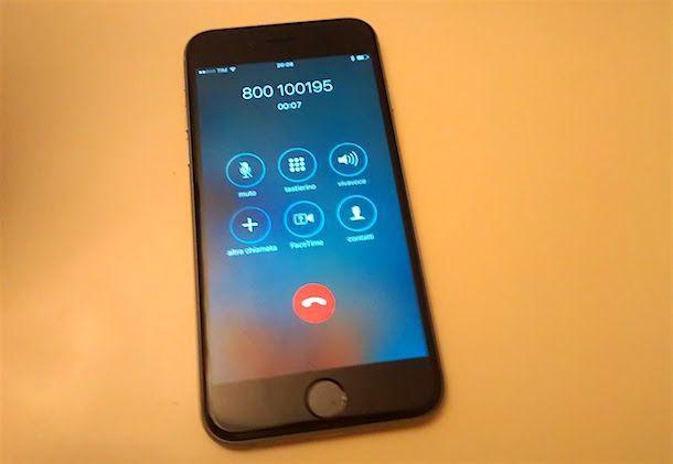 Come chiamare Vodafone da TIM