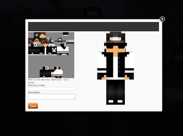 Screenshot di Novaskin