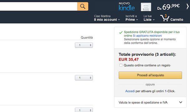 Come pagare con PayPal su Amazon