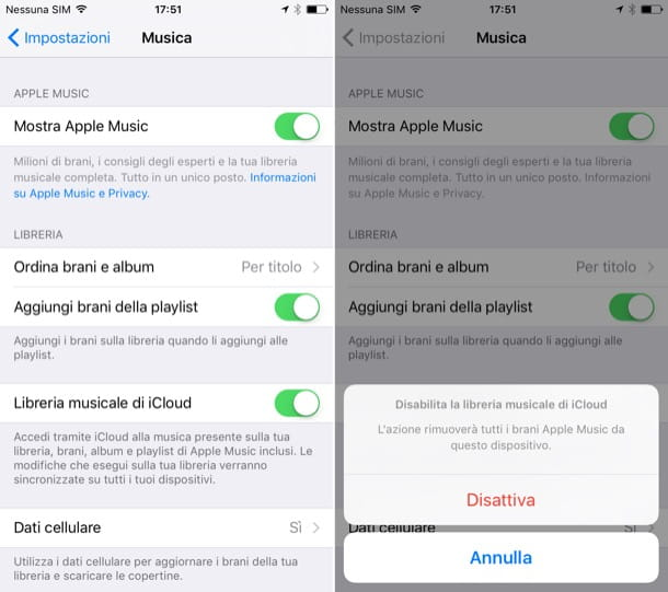 Come cancellare musica da iPhone