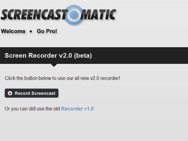 Screenshot di Screencast-o-Matic