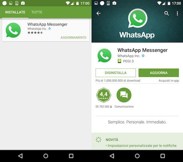 come attivare le chiamate su WhatsApp
