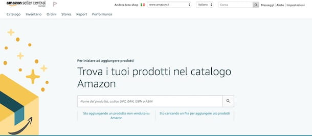 Come vendere su Amazon