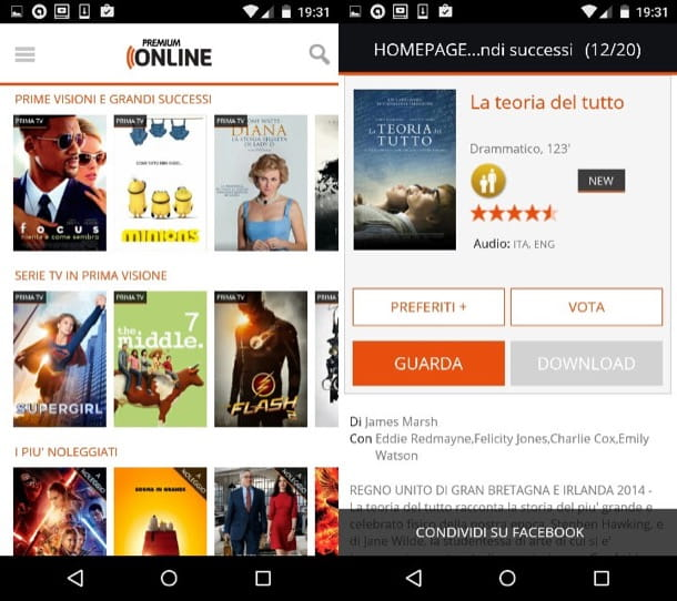 Come vedere film in streaming su Android
