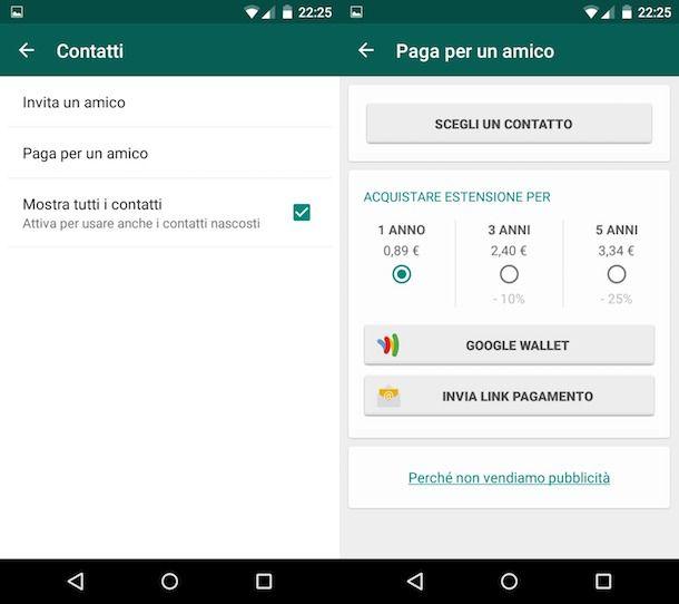 Come pagare WhatsApp con credito telefonico