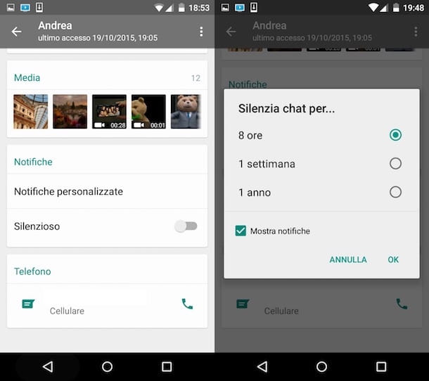 Come bloccare una persona su WhatsApp