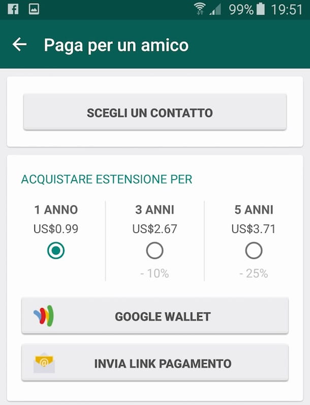 Screenshot WhatsApp Android