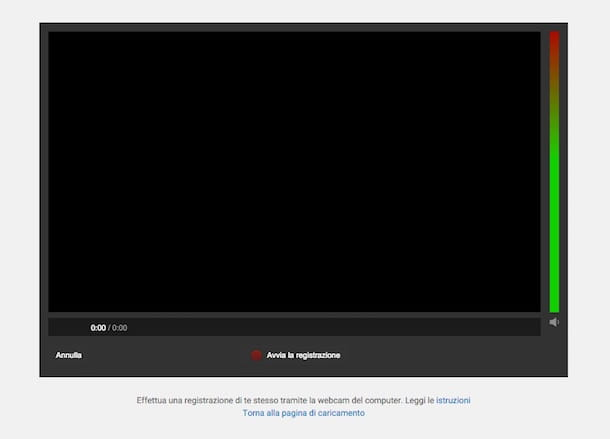 Screenshot di YouTube