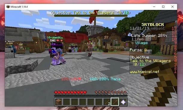 HyPixel Minecraft