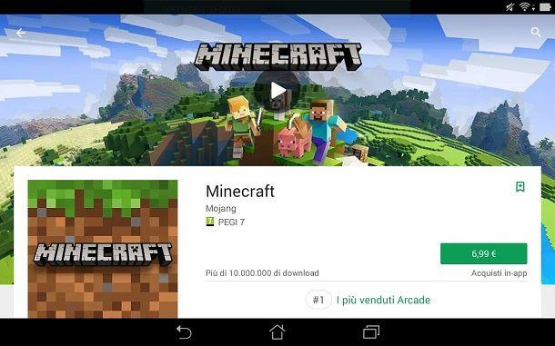 come scaricare minecraft gratis per pc windows 10
