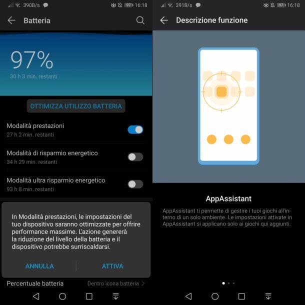 Ottimizzare i giochi su Android