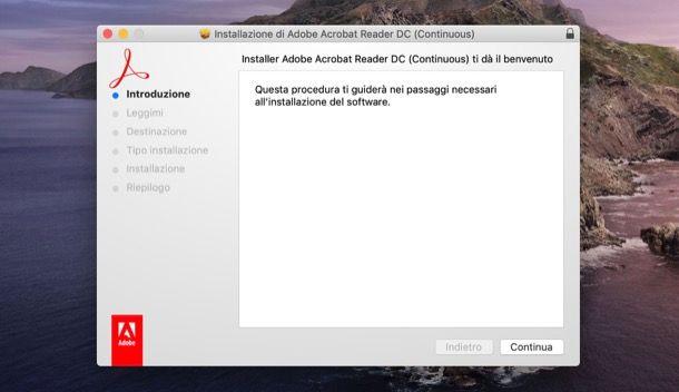 Scaricare Adobe Reader su Mac