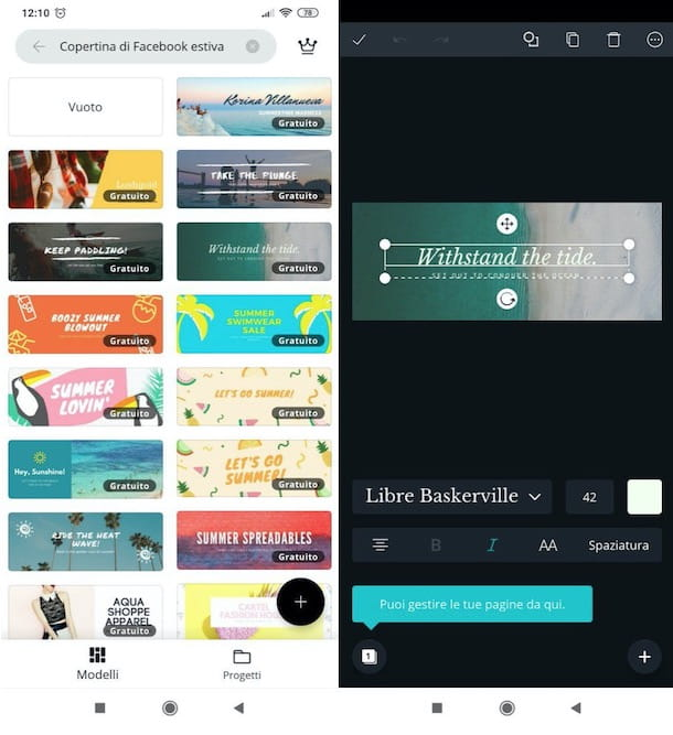 Canva mobile