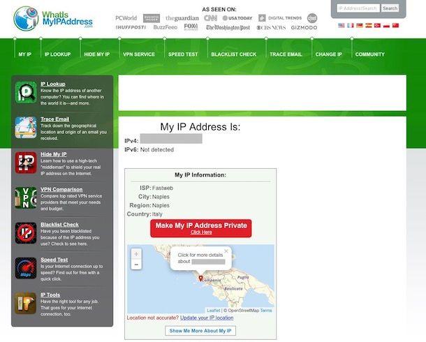 Come trovare IP