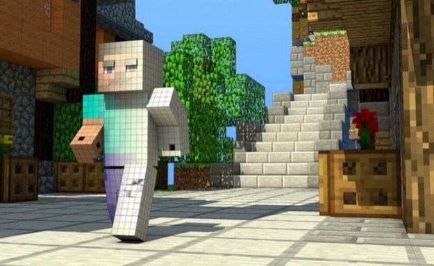 Lastra Di Legno Minecraft : Come costruire una casa su minecraft salvatore aranzulla