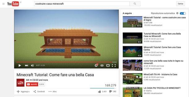Come costruire una casa su minecraft salvatore aranzulla for Costruire una casa per 100k