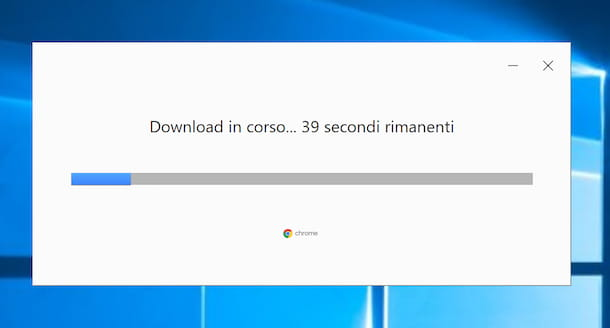 Installazione Chrome su Windows