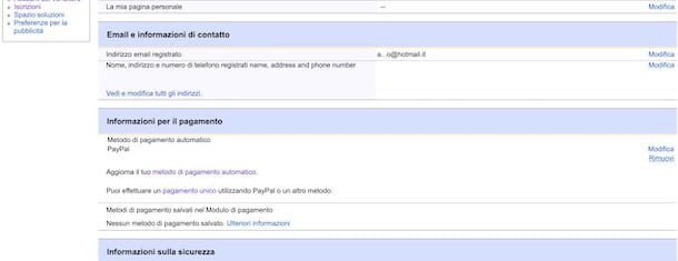 Chiudere account eBay venditore