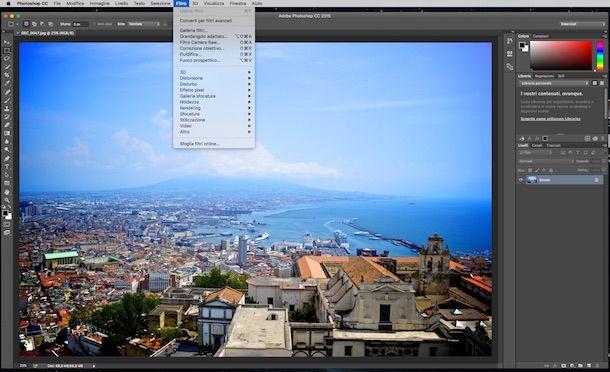 Screenshot di Photoshop
