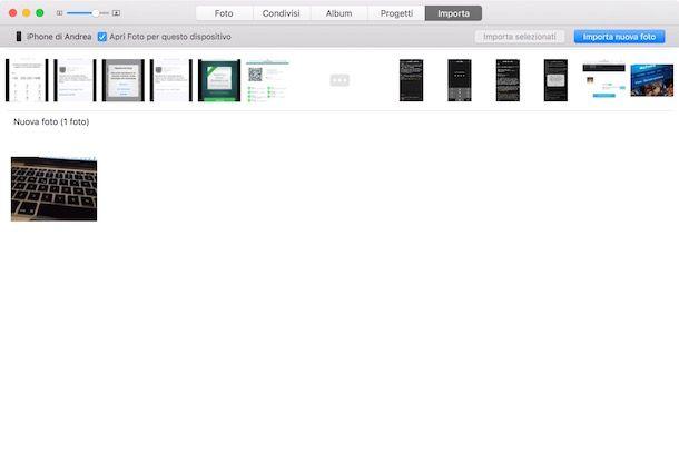 Come copiare foto da iPhone a PC