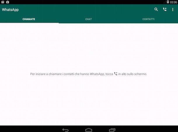 Screenshot che mostra come scaricare WhatsApp su Android