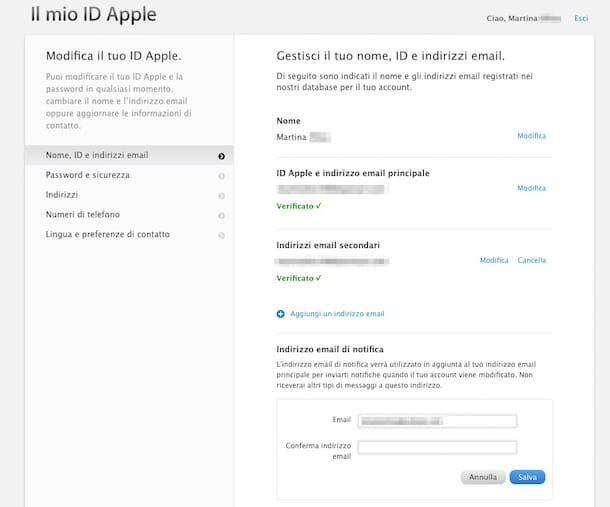 Screenshot ID Apple