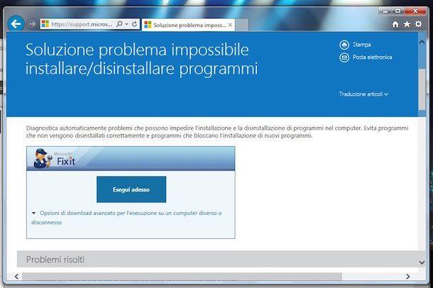 Screenshot di Microsoft iFixit
