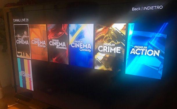Vedere Mediaset Premium su Smart TV