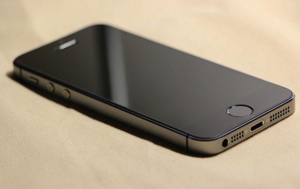 Foto di un iPhone 5S
