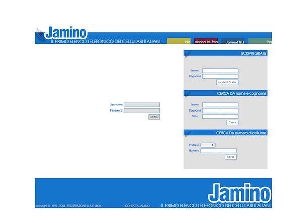 Screenshot di Jamino