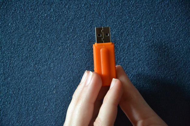 Foto di una chiavetta USB