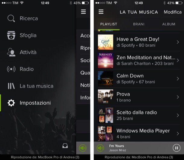Programmi per scaricare musica iPhone