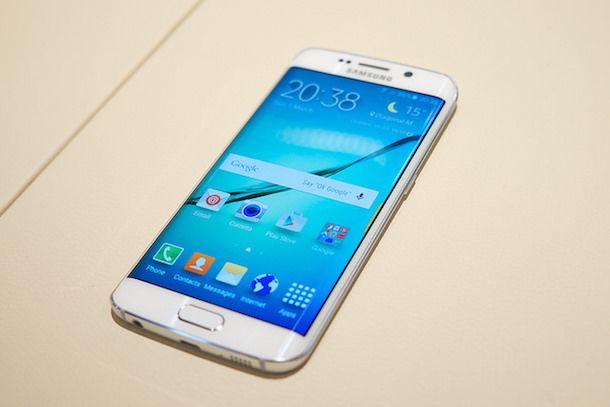 Foto di un Samsung Galaxy S6