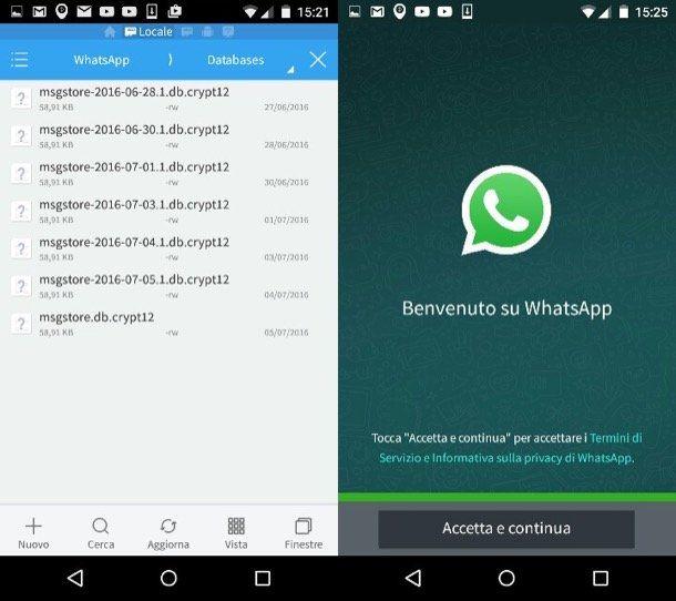 Come trasferire WhatsApp