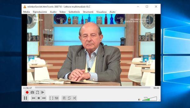 Registrare canali TV con VLC
