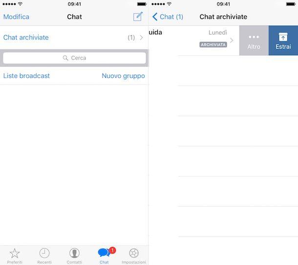 Come recuperare conversazioni WhatsApp iPhone