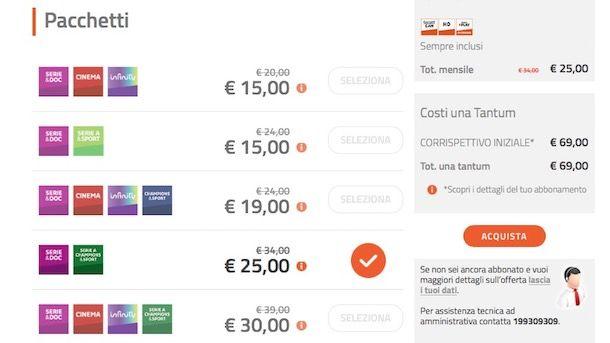 Come attivare Mediaset Premium