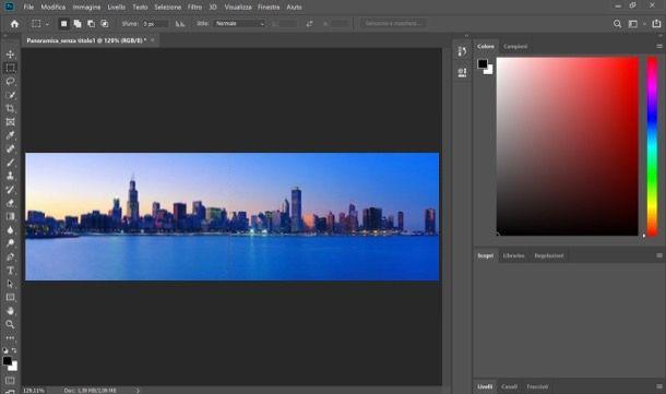 Come unire foto con Photoshop