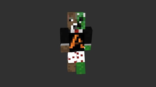 Skin Aranzulla finita Minecraft