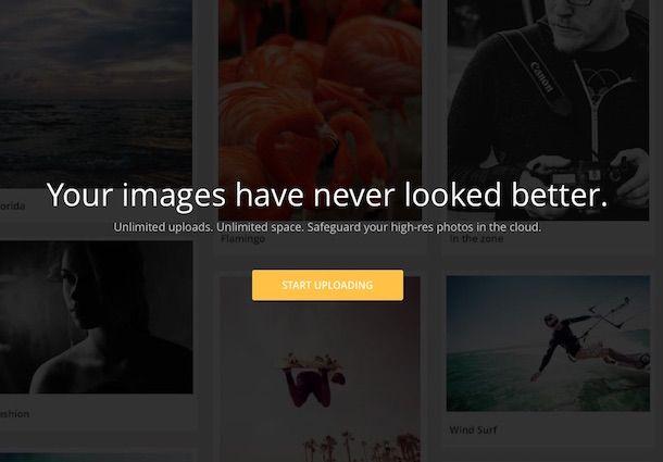 Screenshot di ImageShack
